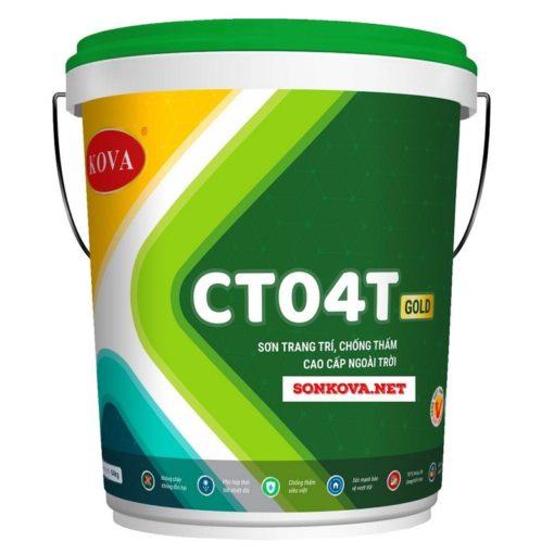 SƠN TRANG TRÍ CHỐNG THẤM CAO CẤP NGOÀI TRỜI CT04T-GOLD