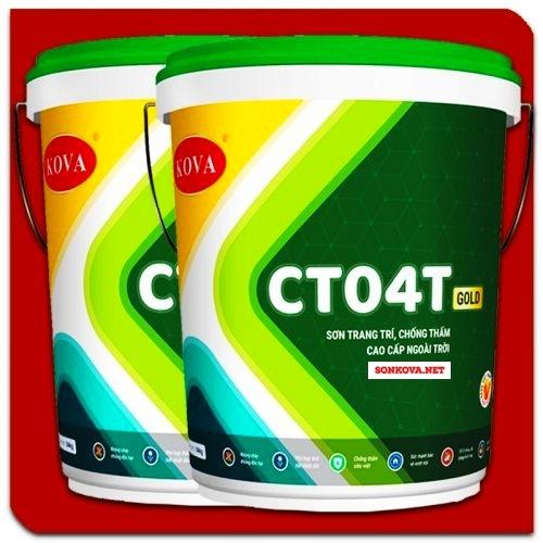 SƠN TRANG TRÍ CHỐNG THẤM CAO CẤP NGOÀI TRỜI CT04T-GOLD-2