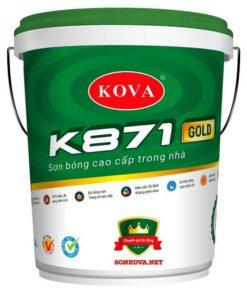 SƠN BÓNG CAO CẤP TRONG NHÀ K871-GOLD